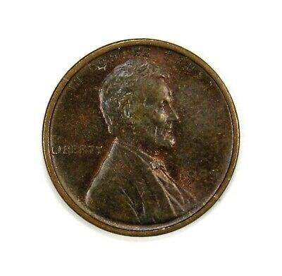 1909 P VDB 1c Lincoln Wheat Cent Penny AU+ / Unc Uncirculated Red Brown #131842*