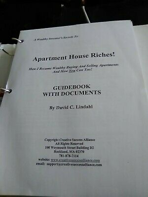 Real Estate Manual Apartment House Riches