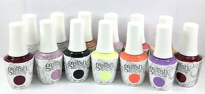 NEW Harmony Gelish Soak-Off Gel - Pick Color/Top/Base/Bond/0.5oz/15mL - Series 1