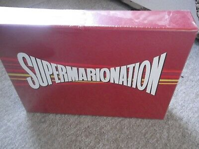 SUPERMARIONATION ; Limited Numbered Edition Collector's Blu Ray Box Set ; New &