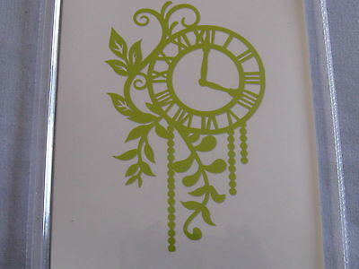 Kaisercraft Decorative Die 756 Foliage Clock X 1 Gorgeous L@@k