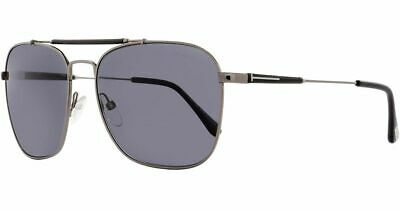 42c2dee3b179 New Tom Ford Sunglasses TF377 Edward 09D Gunmetal Black FT0377 S Polarized