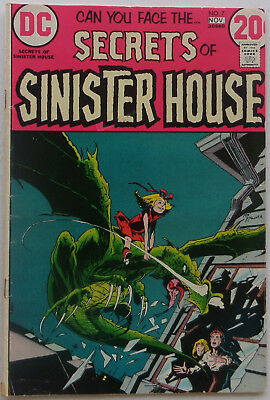 Secrets of Sinister House #7 (Oct-Nov 1972, DC, VG condition