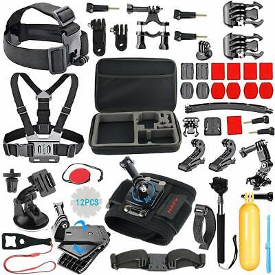 Accessori GoPro Kit per Hero 6 5 4 3 2 1 Session Black Set Action Cam da Camera
