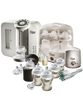 Tommee Tippee Perfect Prep and Complete Feeding Bundle - White