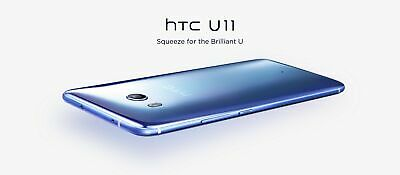 "New UNOPENDED HTC U11 5.5"" 64GB Global Super LCD5 Samartphone/Sapphire Blue/32GB"
