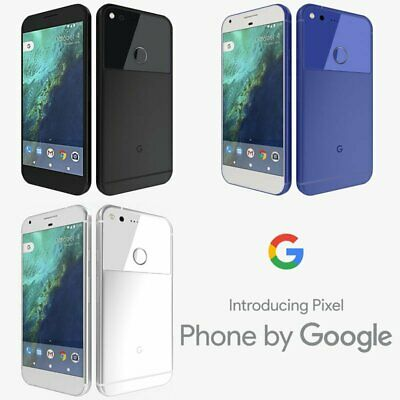 "New UNOPENDED Google Pixel XL 5.5"" At&t T-Mob Verizon Smartphone/Silver/128GB"