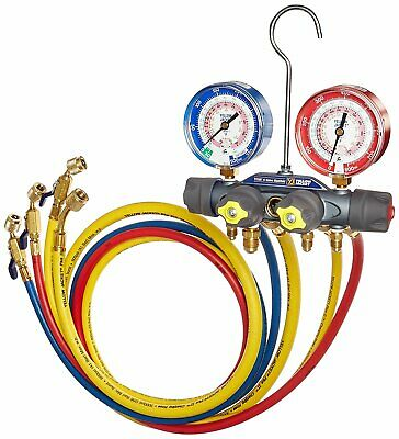 "Yellow Jacket 49968 Titan Charging Manifold w/ 60"" Ball Valve"