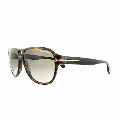 New TOM FORD Sunglasses FT0045 JACK 52P  Dark Havana//Gradient Green 51MM F//Ship