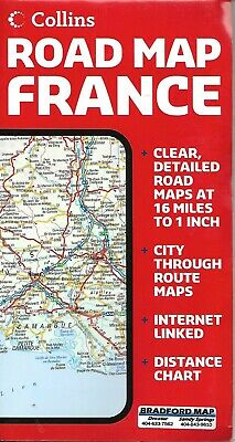 Clear Map Of France.Map Of France By Hema Maps 4 95 Picclick