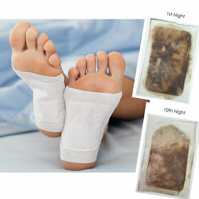 20 Detox foot patches - 10 pairs ** Happy Feet **
