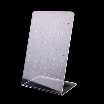 120 Holes Earring Holder Ear Stud Jewelry Stand Display Showcase Rack AU^
