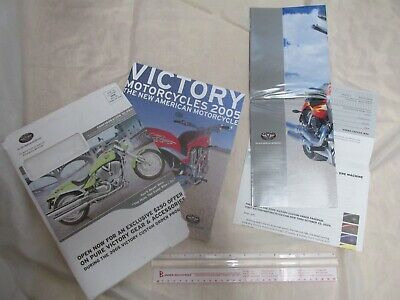 Victory 2005 Model Sales Brochure Full Color Mailing Package
