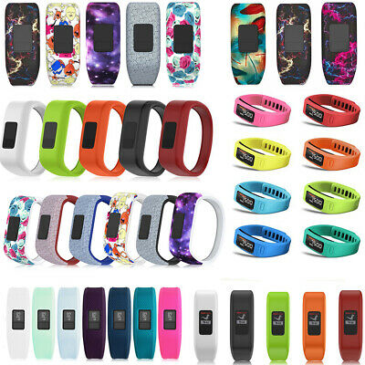 Silicone Replacement Watch Band Wrist Strap for Garmin Vivofit 1/2/3 JR Tracker