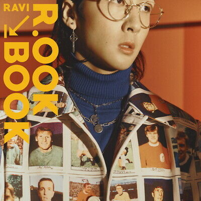 RAVI VIXX - R.OOK BOOK (2nd Mini) CD+Photocard+Folded Poster+Tracking no.