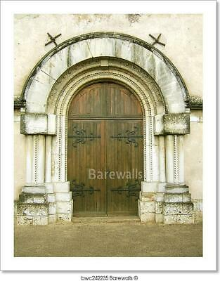 Church Entrance Art Print Home Decor Wall Art Poster - L