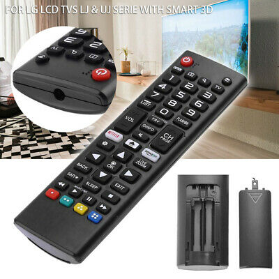 AKB75095307 TV Remote Control For LG LCD TVs LJ & UJ Serie With SMART 3D Black