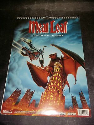 MEAT LOAF Calendrier 1995 Wall Calendar - Bat Out of Hell II - DANILO