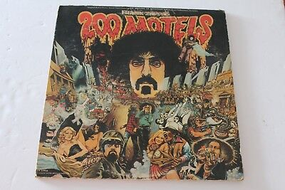 FRANK ZAPPA 200 MOTELS 2 LPs ~ UAS-9956 / United Artists Mothers of Invention