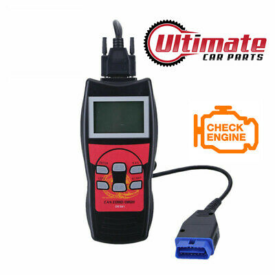 Universal Fault Code Reader Engine Scanner Diagnostic Reset Tool Obd 2 Can Bus