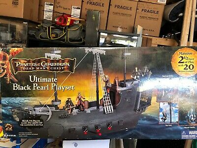 2006 Zizzle Disney Pirates of the Caribbean Black Pearl Ship Complete All Pieces