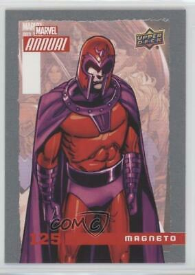 2016 Upper Deck Marvel Annual #125 SP Magneto Non-Sports Card 4et