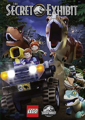 LEGO Jurassic World: The Secret Exhibit New DVD / Still Sealed / Free Delivery
