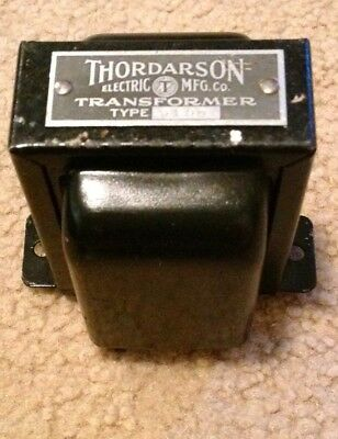 Thordarson Type 6195 line to line vintage transformer
