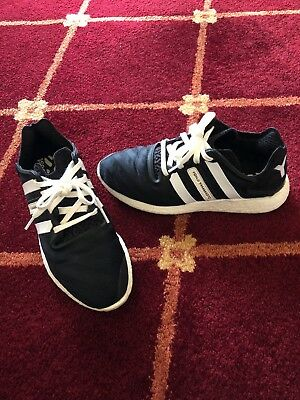 05b6e3f4e0e4c USED MEN S Y-3 Yohji Run Sneakers Size 10.5 black and white -  65.00 ...