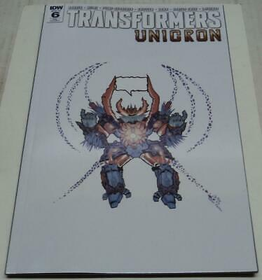 93c2b5681ef Transformers Unicron  6 Retailer Exclusive Cover B (Idw 2018) (Fn vf