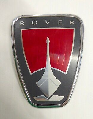 Rover Front Grille Badge, Facelift Models, Genuine, New (Das100106)