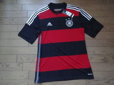 f57030c8f Germany 100% Original Soccer Jersey Shirt M 2014 World Cup Away Kit BNWT NEW