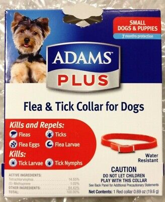 Adams Plus Flea & Tick Collar - small dogs/puppies - 7 months protection