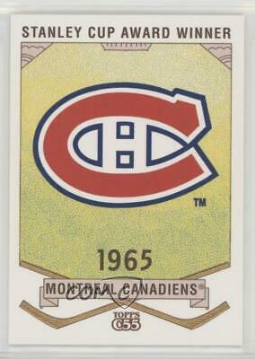 2003-04 Topps C55 Stanley Cup Winners #SCW39 1965 Montreal Canadiens Team Card