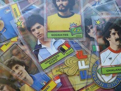 Panini Football Superstars Plastic Cards