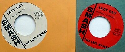 "LEFT BANKE Lot of 2x45rpm singles ""Pretty Ballerina"" 1960s pop rock   CtLot117"