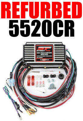 MSD 5520CR RECONDITIONED Ignition Box MSD Street Fire Digital CD w Rev  Limiter