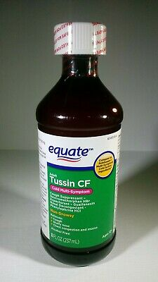 Equate Tussin Cf Compare To Robitussin Cf Cough Cold Syrup