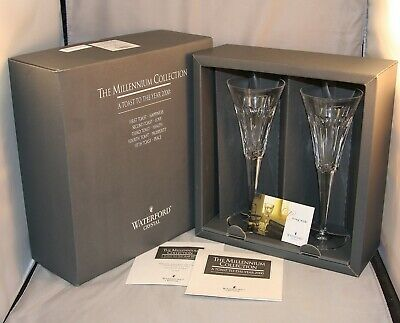 """Waterford Crystal """"LOVE"""" The Millennium Collection  New in Box"""