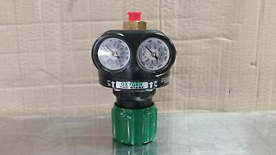 Victor 0781-5218 1-1/2 In Gauge Size 5-125 PSI Two Stage Gas Regulator