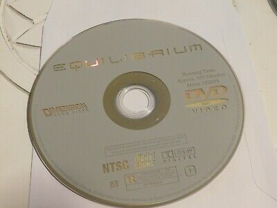 Equilibrium (DVD, 2003)Disc only 41-296