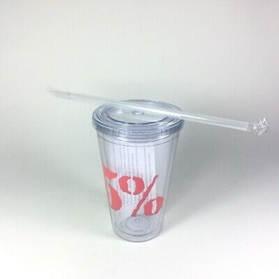 Rich Piana 5% Cup with Straw & Lid