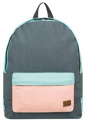 Roxy Sugar Baby Canvas Colorblock 16L Backpack - Turbulence - New