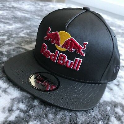 NEW RARE RED Bull Athlete Only New Era Trucker Snapback Hat Cap Pink ... 42f427a8ea77