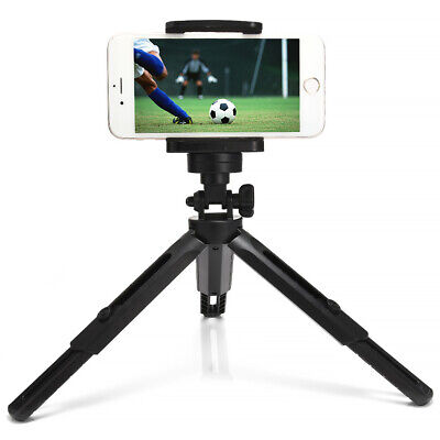 Universal Flexible Mini Tripod Stand +Holder Clip Mount For Cell Phone Camera