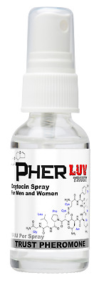 Oxytocin Pheromone Spray for Men and Women PherLuv Attractant for Men and Women