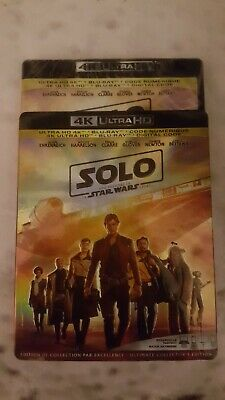 Solo: A Star Wars Story 4K ( 4K UHD/Blu-ray/Digital ) with Slipcover **SEALED**