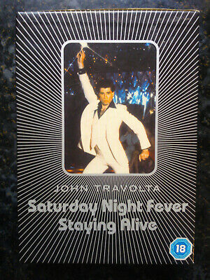 Saturday Night Fever / Staying Alive (DVD Boxset) John Travolta Bee Gees 70's