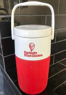 KFC KENTUCKY FRIED CHICKEN / COLEMAN Thermal Drink Picnic Cooler Vintage Thermos
