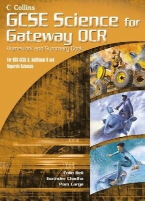 GCSE Science for OCR B - Gateway Science - Science Summary and Homework Book, ,